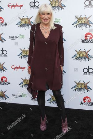 Stock Photo of Wendy Dio attends the 6th Annual Revolver Golden Gods Award Show at Club Nokia on in Los Angeles, California