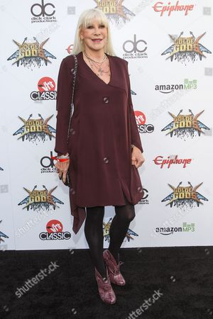 Wendy Dio attends the 6th Annual Revolver Golden Gods Award Show at Club Nokia on in Los Angeles, California