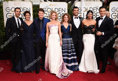Editorial image of 72nd Annual Golden Globe Awards - Arrivals, Beverly Hills, USA