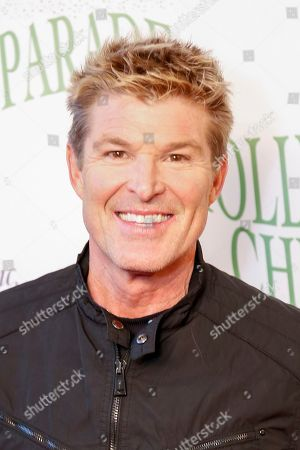 Stock Image of Winsor Harmon arrives at the 85th Annual Hollywood Christmas Parade, in Los Angeles