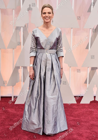 Torill Kove arrives at the Oscars, at the Dolby Theatre in Los Angeles