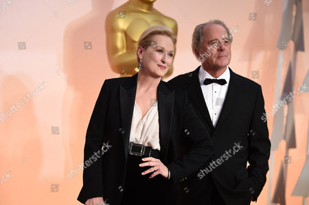 Meryl Streep, left, and Don Gummer arrive at the Oscars, at the Dolby Theatre in Los Angeles