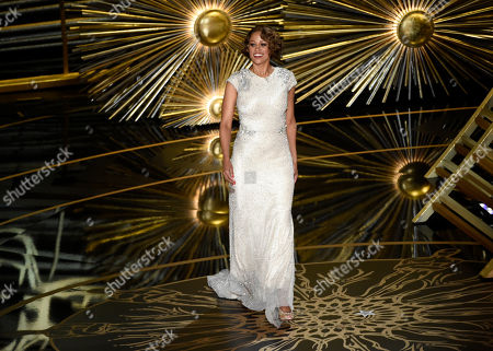 Stacey Dash speaks at the Oscars, at the Dolby Theatre in Los Angeles