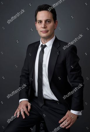 Adam Benzine poses for a portrait at the 88th Academy Awards Nominees Luncheon at The Beverly Hilton hotel, in Beverly Hills, Calif