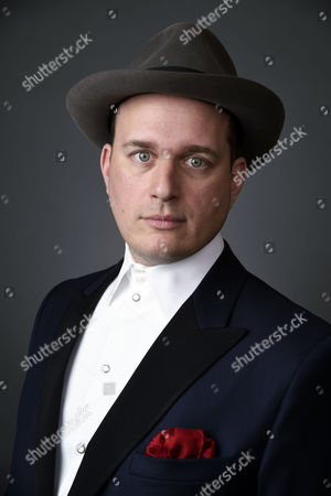 Composer J. Ralph poses for a portrait at the 88th Academy Awards Nominees Luncheon at The Beverly Hilton hotel, in Beverly Hills, Calif