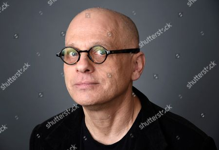 Composer David Lang poses for a portrait at the 88th Academy Awards Nominees Luncheon at The Beverly Hilton hotel, in Beverly Hills, Calif