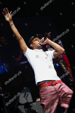 DJ Quik performs during 93.5 KDAY's Krush Groove held at The Forum, in Inglewood, Calif