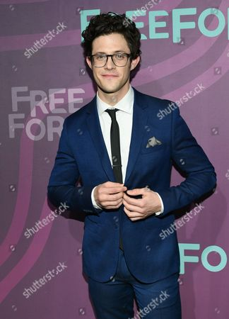 Actor Kyle Harris attends the ABC Freeform 2016 Upfront at Spring Studios, in New York