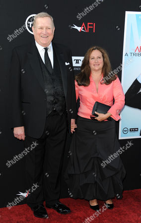 Ken Howard, at left, and his wife, Linda Fetters arrives at the American Film Institute's 41st Lifetime Achievement Gala at the Dolby Theatre on Thursday, June6, 2013 in Los Angeles