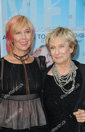Cloris Leachman, at right, and her daughter, Dinah Englund, arrives at the American Film Institute's 41st Lifetime Achievement Gala at the Dolby Theatre on Thursday, June6, 2013 in Los Angeles