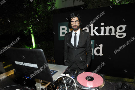 DJ Myles Hendrik performs at AMC's and Sony Pictures Television's celebration for the final episodes of 'Breaking Bad' on the Sony Lot on in Los Angeles