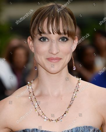 Stock Photo of Ashley Bouder attends the American Ballet Theatre's 75th Anniversary Diamond Jubilee Spring Gala at Metropolitan Opera House, in New York