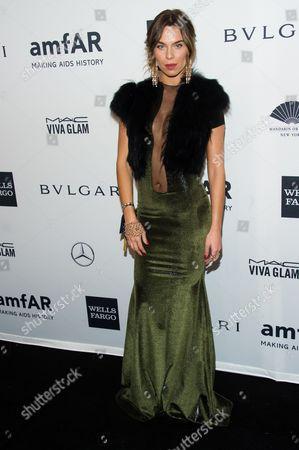 Liliana Nova attends the amfAR Gala on in New York