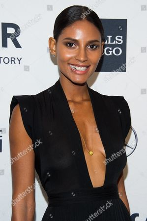 Stock Picture of Emanuela de Paula attends the amfAR Gala on in New York