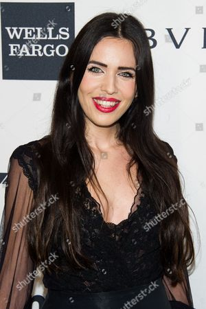 Diana Lado attends the amfAR Gala on in New York