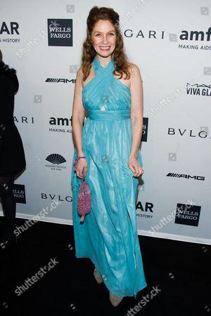 Khrystyne Haje attends the amfAR Gala on in New York