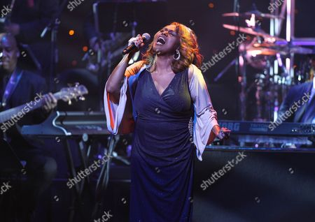 Singer Jennifer Holliday is seen performing at the 2013 Apollo Spring Gala, on in New York