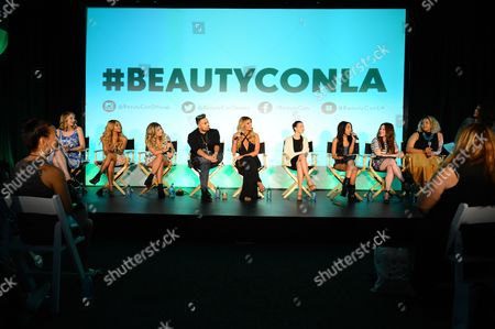 Editorial image of BeautyCon 2014 in Partnership with ELLE, Los Angeles, USA