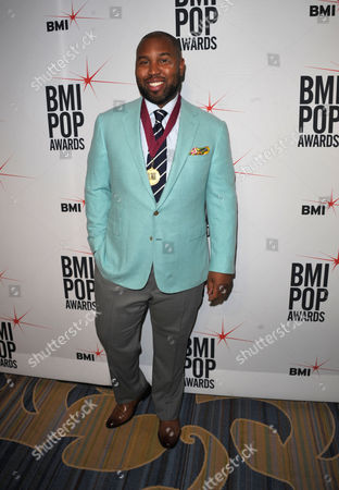 """Claude Kelly attends the """"BMI 61st Annual Pop Awards"""" at The Beverly Wilshire Hotel on in Beverly Hills, Calif"""