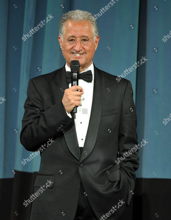 """BMI President Del Bryant appears on stage at the """"BMI 61st Annual Pop Awards"""" at The Beverly Wilshire Hotel on in Beverly Hills, Calif"""