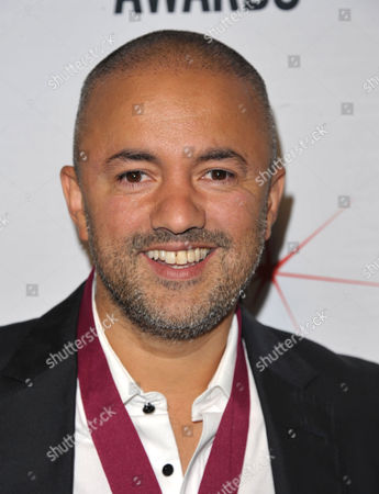 """Stock Image of Nadir Khayat, aka RedOne, attends the """"BMI 61st Annual Pop Awards"""" at The Beverly Wilshire Hotel on in Beverly Hills, Calif"""