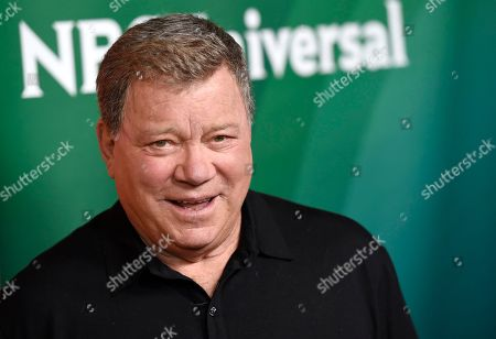 """William Shatner arrives at the NBC Universal Summer Press Day at The Langham Huntington Hotel in Pasadena, Calif. Shatner's latest memoir, """"Leonard: My Fifty-Year Friendship with a Remarkable Man,"""" is out . In the book, Shatner details his conflicted relationship with friend and """"Star Trek"""" comrade Leonard Nimoy, who died last February"""