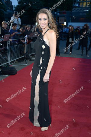 Amy Dickson arrives at the Classic BRIT Awards 2013 at the Royal Albert Hall,, in London