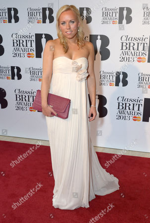 Tine Thing Helseth arrives at the Classic BRIT Awards 2013 at the Royal Albert Hall,, in London