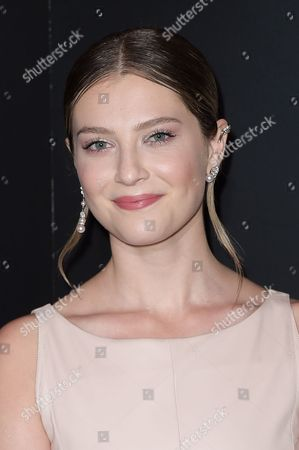 Zoe Levin seen at the Chanel dinner to celebrate new fragrance No.5 L'EAU with Lily-Rose Depp at Sunset Tower Hotel, in West Hollywood, Calif