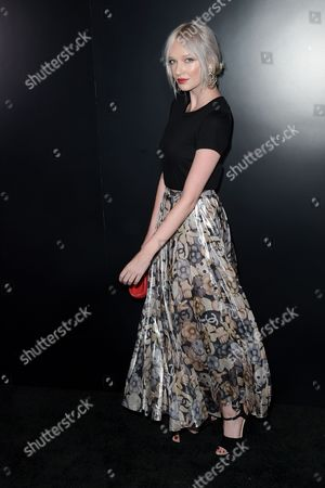 Stock Picture of Ariel Beesley seen at the Chanel dinner to celebrate new fragrance No.5 L'EAU with Lily-Rose Depp at Sunset Tower Hotel, in West Hollywood, Calif