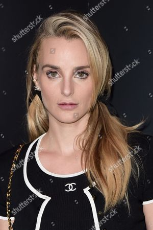 Katie Nehra seen at the Chanel dinner to celebrate new fragrance No.5 L'EAU with Lily-Rose Depp at Sunset Tower Hotel, in West Hollywood, Calif
