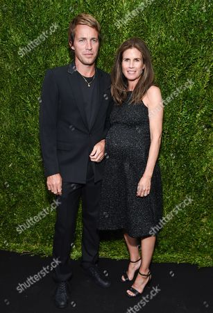 Designer David Neville and Gucci Westman attend the CHANEL Fine Jewelry Dinner to celebrate the debut of The Jewel Box Boutique at Bergdorf Goodman, in New York