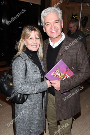 Philip Schofield seen at the European premiere of Cirque Du Soleil Kooza at the Royal Albert Hall, in London