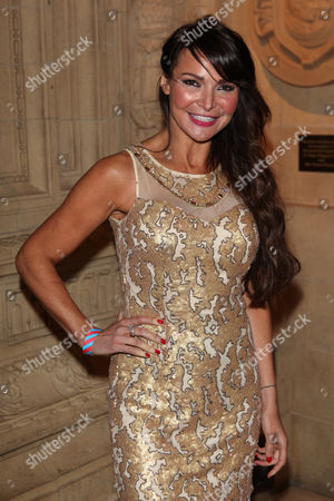 Lizzy Cundy seen at the European premiere of Cirque Du Soleil Kooza at the Royal Albert Hall, in London