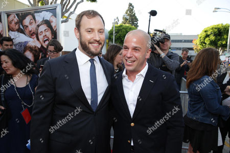 Director/Producer/Writer Evan Goldberg and Executive Producer Nathan Kahane at Columbia Pictures 'This is The End' Premiere on Monday, June, 3, 2013 in Los Angeles