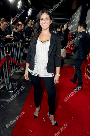 """Ida Darvish seen at Columbia Pictures Presents in Association with Imagine Entertainment the Los Angeles Special Red Carpet Screening of """"Inferno"""" at The DGA, in Los Angeles"""