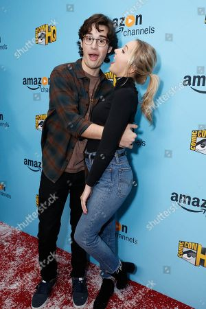 Joey Bragg and Audrey Whitby seen at the Lionsgate, Comic-Con HQ and Amazon Channels celebration for the new seasons of Con Man, Kings of Con and Mark Hamill's Pop Culture Quest at the Paley Center in Beverly Hills