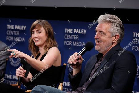 Alison Haislip and P.J. Haarsma seen at the Lionsgate, Comic-Con HQ and Amazon Channels celebration for the new seasons of Con Man, Kings of Con and Mark Hamill's Pop Culture Quest at the Paley Center in Beverly Hills