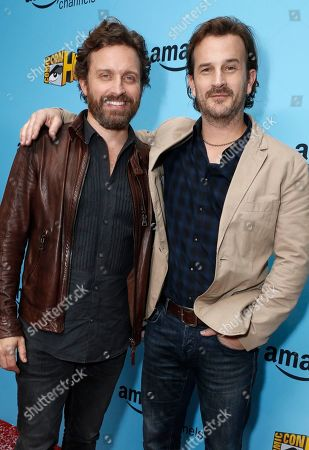 Rob Benedict and Richard Speight Jr. seen at the Lionsgate, Comic-Con HQ and Amazon Channels celebration for the new seasons of Con Man, Kings of Con and Mark Hamill's Pop Culture Quest at the Paley Center in Beverly Hills