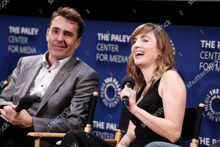 Stock Picture of Nolan North and Alison Haislip seen at the Lionsgate, Comic-Con HQ and Amazon Channels celebration for the new seasons of Con Man, Kings of Con and Mark Hamill's Pop Culture Quest at the Paley Center in Beverly Hills