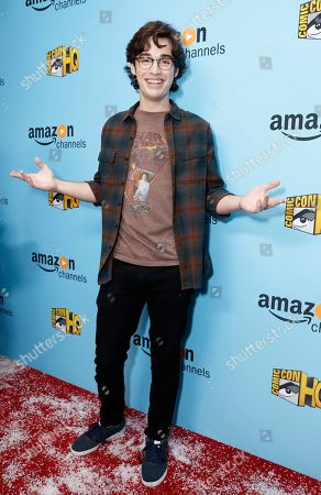 Joey Bragg seen at the Lionsgate, Comic-Con HQ and Amazon Channels celebration for the new seasons of Con Man, Kings of Con and Mark Hamill's Pop Culture Quest at the Paley Center in Beverly Hills