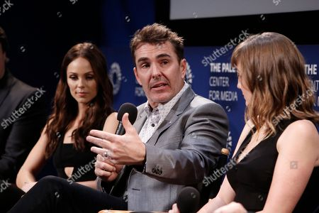 Laura Vandervoort, Nolan North and Alison Haislip seen at the Lionsgate, Comic-Con HQ and Amazon Channels celebration for the new seasons of Con Man, Kings of Con and Mark Hamill's Pop Culture Quest at the Paley Center in Beverly Hills