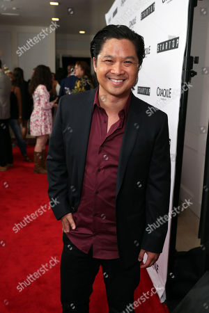 "Dat Phan seen at Crackle's ""StartUp"" Premiere at The London West Hollywood, in Los Angeles, CA"