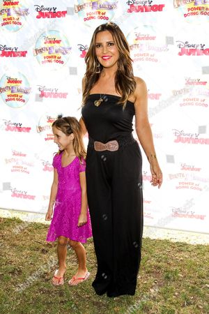 """Jillian Barberie attends the Disney Junior's """"Pirate And Princess: Power Of Doing Good"""" Tour event at Brookside Park, in Pasadena, Calif"""
