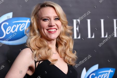 Kate McKinnon arrives at the ELLE Women in Comedy Event at Hyde Sunset, in Los Angeles