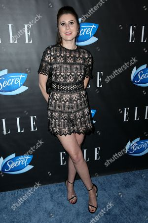 Stock Image of Elizabeth Shapiro arrives at the ELLE Women in Comedy Event at Hyde Sunset, in Los Angeles