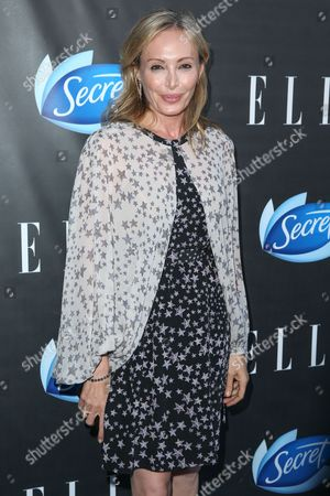 Lubov Azria arrives at the ELLE Women in Comedy Event at Hyde Sunset, in Los Angeles