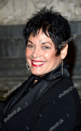 Martine Beswick poses at Everything or Nothing - The Untold Story of 007 After Party at Odeon West End on in London