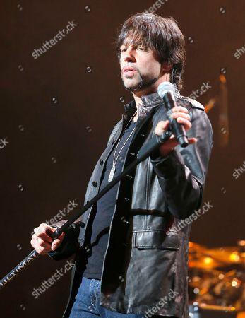 Noah Hunt performs during the Experience Hendrix Tour at Mesa Arts Center on in Mesa, Arizona
