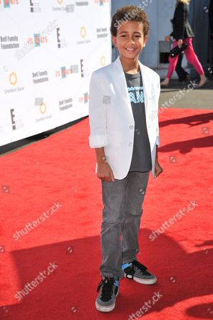 "Tyree Brown attends the ""Express Yourself"" creative arts fair at The Barker Hangar, in Santa Monica, Calif"
